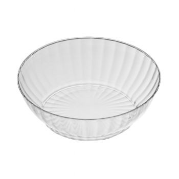 10oz Crystal Effect Clear Plastic Disposable Bowls – Case of 240
