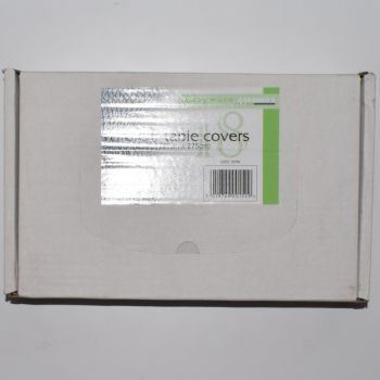 144 x Clear Plastic Disposable Table Covers - 54 x 108''