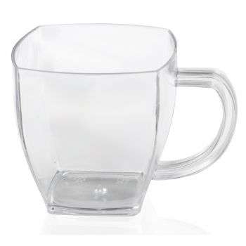 Bulk Case 800 x Plastic Mini Dessert Mugs 70ml