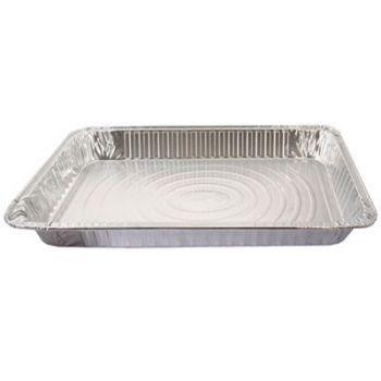 50 x Full Size Medium Aluminium Foil Roasting Tray (4020)