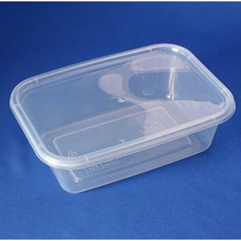 250 x Freezer/ Microwave container - 1ltr
