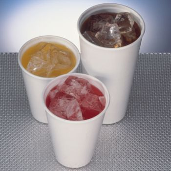 1000 x 12oz Polystyrene Insulated Foam Tea Coffee Cups