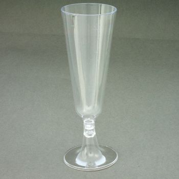 Mashers 150ml Disposable Clear Plastic Stemmed Wedding Party Cocktail Glasses – Case of 288