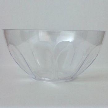 240 x Clear Plastic Dessert Bowl - 170ml/6oz
