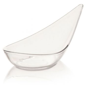 Mashers Mozart Mini Disposable Plastic Chinese Soup Spoon/Serving Bowl – Case of 600