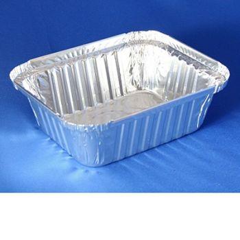 2080 x 1lb Oblong Foil Containers (R28L R33L)