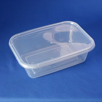 250 x Freezer/ Microwave container - 650cc