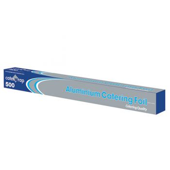 6x Aluminium Kitchen Tin Foil Roll 50cm x 75mtr - Cutter Box