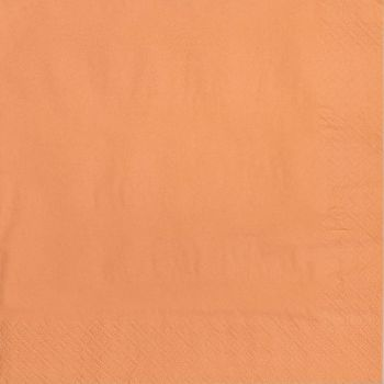 2000 x Peach Paper Dinner Napkins Serviettes - 40cm/2ply