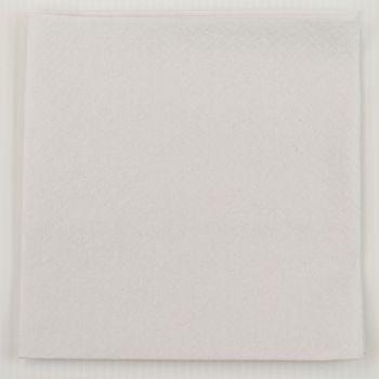 2000 x White Paper Dinner Napkins Serviettes - 40cm/2ply