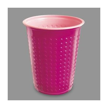 1200 x Fuchsia/Pink Disposable Plastic Party Cups - 7oz