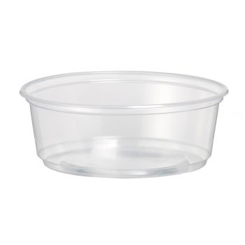 500 x Round Food Storage Container 250cc / 8oz