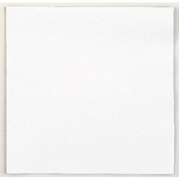 500 Luxury White Linen Feel Airlaid Napkins 40cm - 3 Ply
