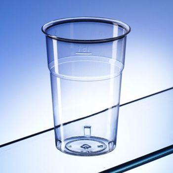 1000 x 4oz Juice Drink Clear Plastic Disposable Tumbler