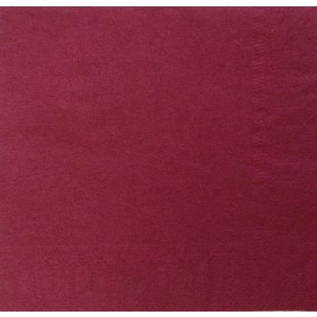 200 x Burgundy Paper Tablecovers - Disposable