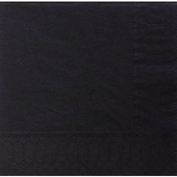 10 x  Paper Party Table Cover Black Banqueting Roll - 25mtr