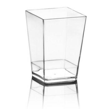 Mashers Kubik 120ml Mini Disposable Plastic Square Dessert Cup Shot Glasses – Case of 500