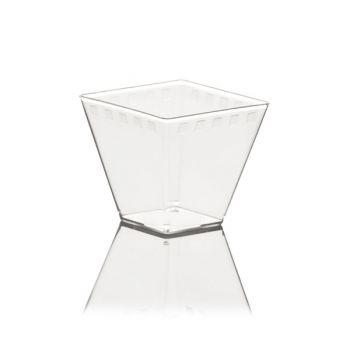 Mashers Era 58ml Miniature Square Plastic Disposable Dessert Serving Party Bowls – Case of 650