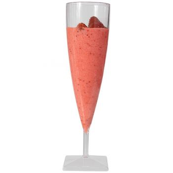 100 x Plastic Cocktail Glasses 130ml (Ref: 108)