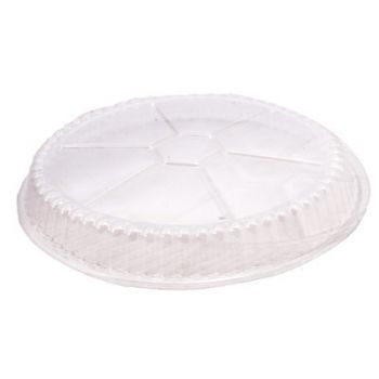 500 x Clear Dome Lid for 7'' Round Container