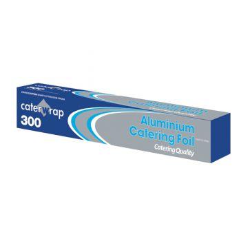6x Aluminium Kitchen Tin Foil Roll 30cm x 75mtr - Cutter Box