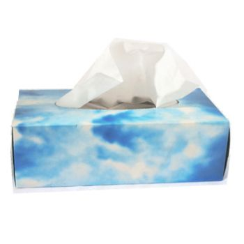 24 Packs x White Paper Tissues - Cloudsoft