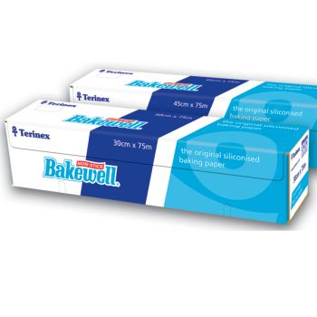 6 x Bakewell Non-Stick Baking Parchment Paper 300mm x 75m