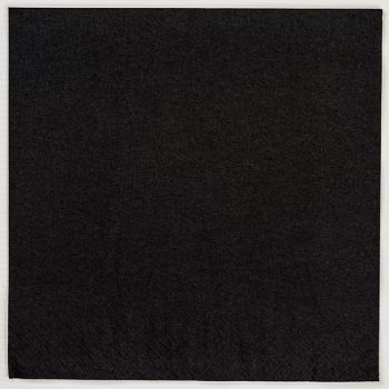 200 x  Black Paper Tablecovers - Disposable