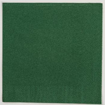 2000x Dark Green Paper Dinner Napkins Serviettes - 40cm/2ply