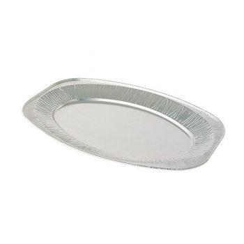 100 x 14'' Oval Foil Tray / Platter (V350G)