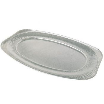 60 x 22'' Oval Foil Platter (V550G)