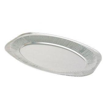 100 x 17'' Oval Foil Platter (V430G)