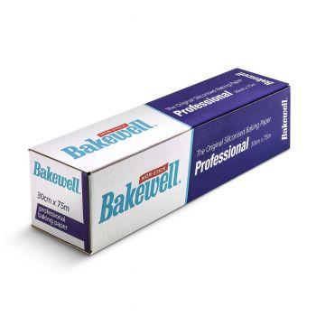 6 x Bakewell Non-Stick Baking Parchment Paper 300mm x 75m