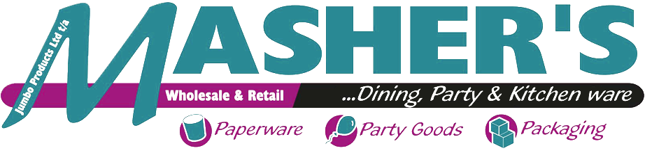 Mashers - Disposable Partyware & Catering Goods